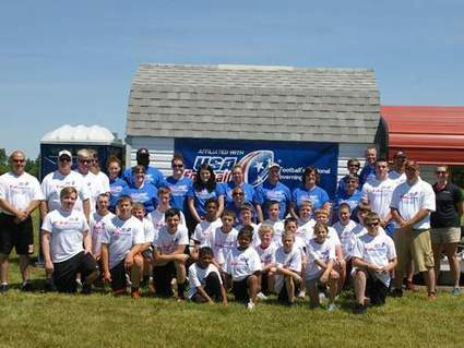 Camp in Bradford builds character through football - The Daily Advocate | American Football Today McCastle W. | Scoop.it