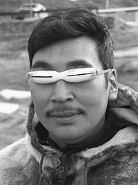Inuit snow goggles - Wikipedia, the free encyclopedia | Inuit Nunangat Stories | Scoop.it