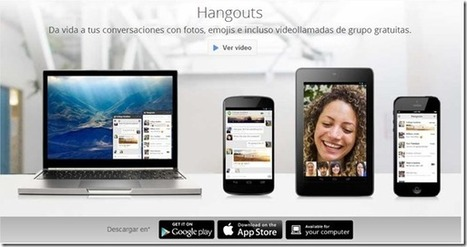 Instala ya el nuevo Google Hangouts, el sustituto de Google Talk | Linguagem Virtual | Scoop.it