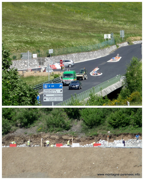 Déviation de Cadéac : nouvelle configuration pour le carrefour sur la RD 929 | Vallée d'Aure - Pyrénées | Scoop.it