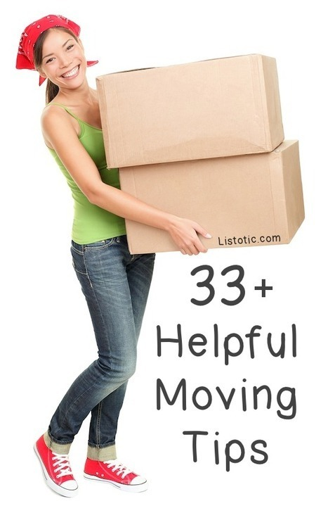 33+ Helpful Moving Tips and Tricks That Everyone Should Know | Rescoops | Scoop.it
