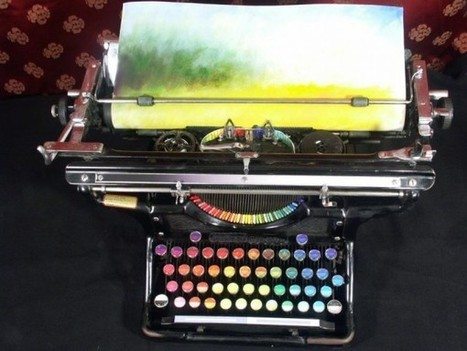 The Chromatic Typewriter   Socialart   Scoop.it