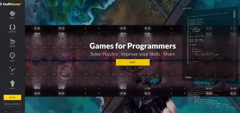 Crea y aprende con Laura: CodinGame. Juego para aprender a programar | Gelarako erremintak 2.0 | Scoop.it