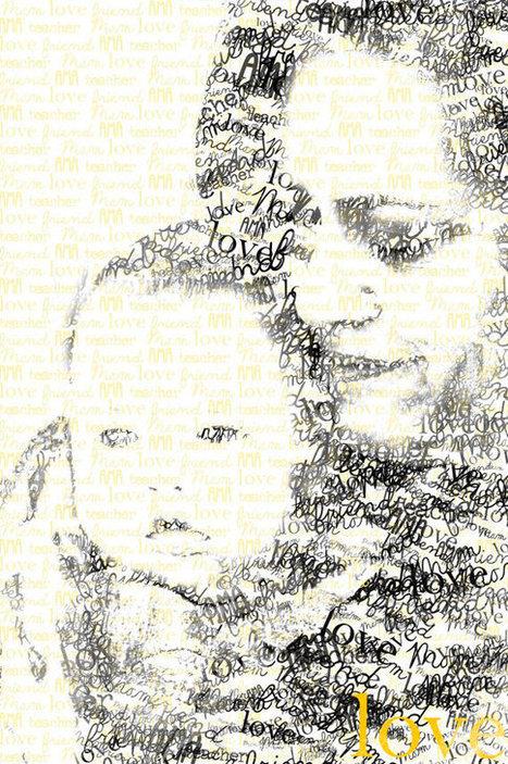 Personalized Text Art Portrait   ASCII Art   Scoop.it