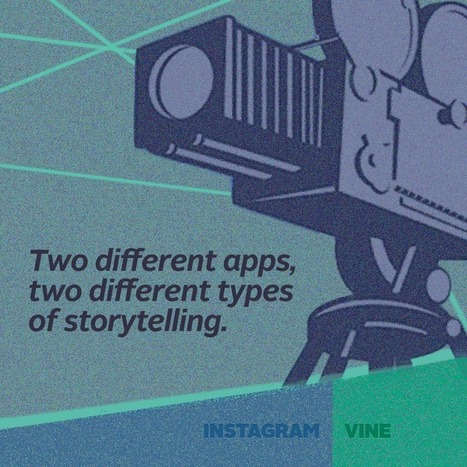 "Two Different Types of Storytelling: Vine vs. Instagram | Transmedia, Singularity and much more ""weird"" stuff I love 