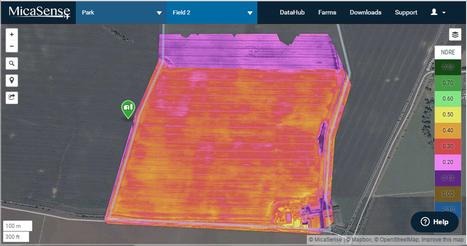 Multispectral imaging with QuestUAV, Micasense and Pix4Dmapper   drones   Scoop.it