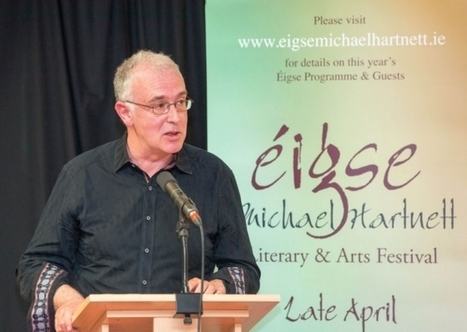 Joseph O'Connor hails Michael Hartnett at festival opening | The Irish Literary Times | Scoop.it