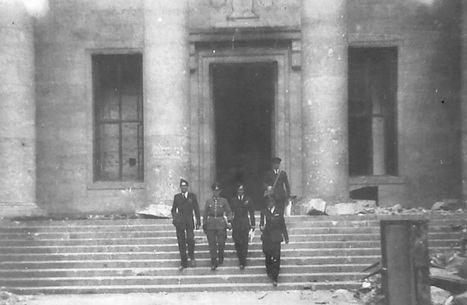 460 Squadron and the Chancellory building 1945 | 460 Squadron - Bomber Command: 1942-45 | Scoop.it