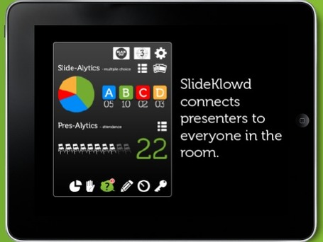 SlideKlowd - create real-time interaction with students | Wiki_Universe | Scoop.it