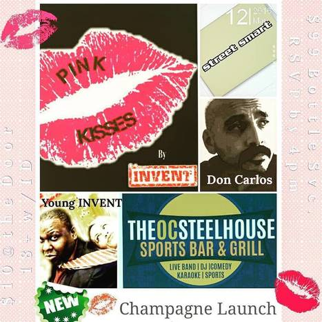 Carlos Simental sur Instagram: #Tonight, Don't forget to Come out and Support your Local Artists as we Launch Pink Kisses Champagne. Catch a Buzz, have a few Laughs, and… | Chromium | Scoop.it
