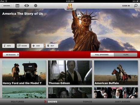 History Channel iPad Apps | Library of Congress | Scoop.it