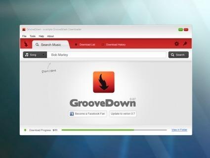 Télécharger la musique de Grooveshark avec GrooveDown (gratuit) | Time to Learn | Scoop.it
