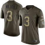 Russell Wilson Seattle Seahawks Nike Salute To Service Limited Jersey - Green | Seattle Sports Teams | Scoop.it