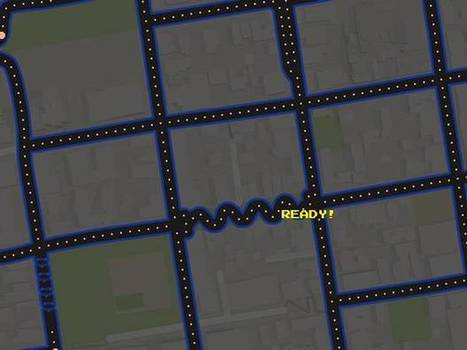 Google Maps will now transform your street into a Pacman level | relevant entertainment | Scoop.it