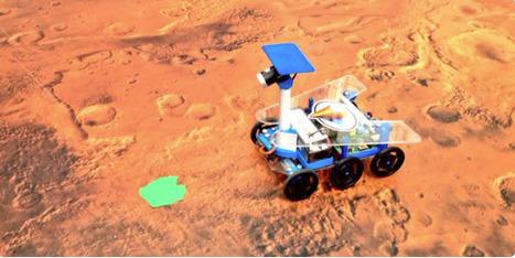 Mission On Mars Robot Challenge 2015 - Inscrivez-vous à #MissionOnMars: Challenge Programmation Robotique pour ingénieurs & étudiants | Machines Pensantes | Scoop.it