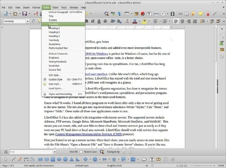 ​The best desktop office suite, LibreOffice, gets better | ZDNet | TDF & LibreOffice | Scoop.it