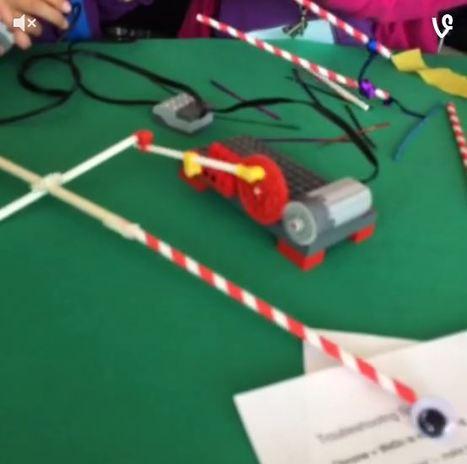 Robotique à l'école - Commander le déplacement d'objets avec l'ordinateur | Educación Tecnólogica y TIC | Scoop.it