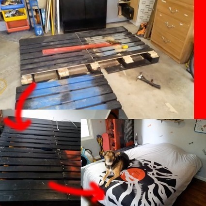 How To Make Bed Frames From Used Pallets   Pargas Junkyard   Scoop.it