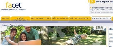 Rachat de crédit Facet Conforama | Rachat de crédit | Scoop.it
