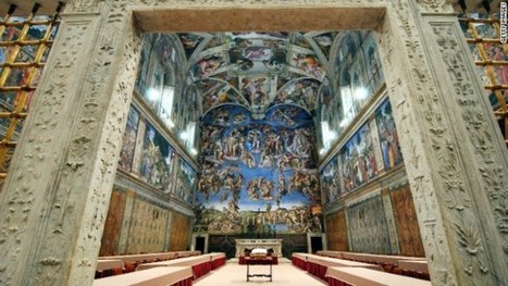Take a Virtual Tour of The Sistine Chapel - | 360 VR photography | Scoop.it