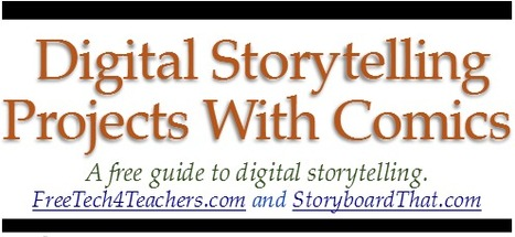Free Technology for Teachers: Free Ebook - Digital Storytelling With Comics | Digi_storytelling | Scoop.it