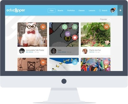Educlipper. Un pinterest like pour l'education | tice | Scoop.it