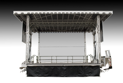 Folding Stage | Transtage - Australia's Leading Staging Equipment Supplier | Scoop.it