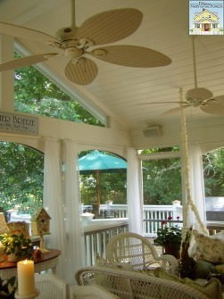 Don't Forget the Ceiling Fan When Accessorizing your Porch or Veranda Area | Air Circulation and Ceiling Fans | Scoop.it