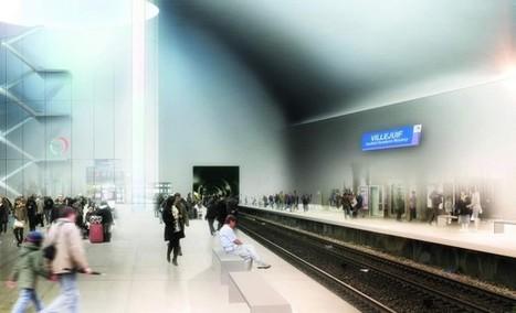 Les gares du Grand Paris Express seront pleines d'énergie | D'Dline 2020, vecteur du bâtiment durable | Scoop.it
