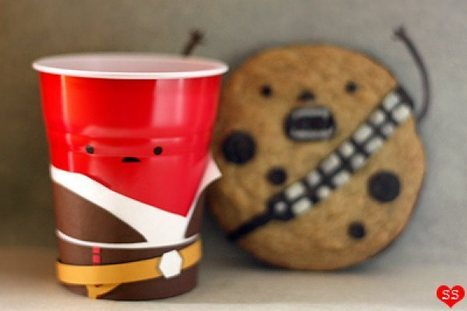 Han Solo Cup and Chewy the Cookie | All Geeks | Scoop.it
