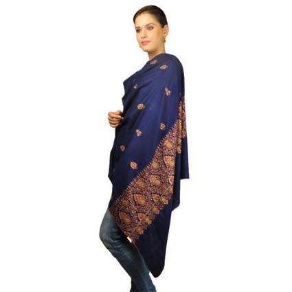 Pure Kashmir Pashmina Sozni Hand Embroidered Shawl   Talkingthreads   Scoop.it