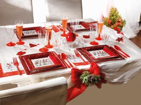Déco Noël : le rouge et le blanc, des valeur sûres | Blog RueDeLaFete | deguisement noel | Scoop.it