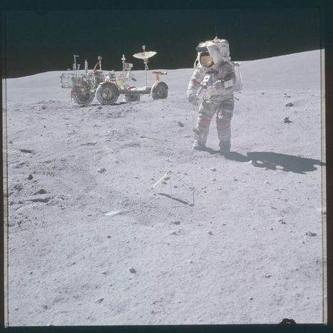 Les photos d'Apollo désormais consultables en haute définition - Libération | Actualités Sciences | Scoop.it