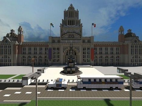 PixeledMe Minecraft | National Museum of Inspiration Minecraft World Save | PLAEATECH | Scoop.it