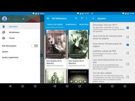 Día del Libro: 5 aplicaciones para leerlos en el Android (FOTOS) - Perú.com | Colaboración + economía. | Scoop.it