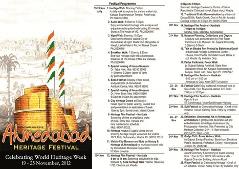 AHMEDABAD HERITAGE FESTIVAL (2012) | The Ahmedabad Blog | Indian Architecture | Scoop.it