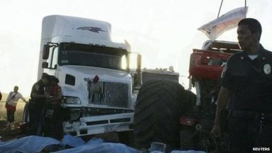 'Monster truck' hits crowd in Mexico | transportation in south africa | Scoop.it