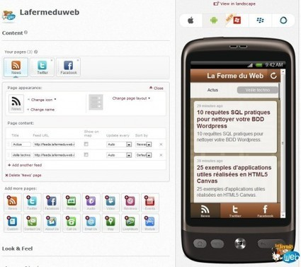 Conduit Mobile - Un générateur d'app mobile native gratuite | INFORMATIQUE 2014 | Scoop.it