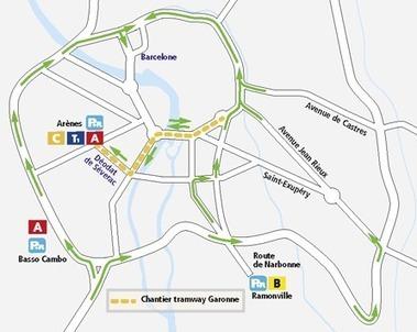 Tisseo - Ligne de tramway Garonne | Tisséo transports | Scoop.it