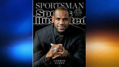 LeBron James chosen as Sports Illustrated's 'Sportsman of the Year' | King James | Scoop.it