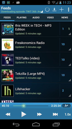 DoggCatcher Podcast Player apk v1.2.3973 download | free android apps download | Scoop.it