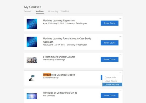 Coursera is Removing Hundreds of Courses. Here is a Guide To Get Them While You Can - Class Central's MOOC Report | Serious Play | Scoop.it