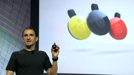Google has sold 30 million of its Chromecast media streaming devices | Entrepreneurship, Innovation | Scoop.it