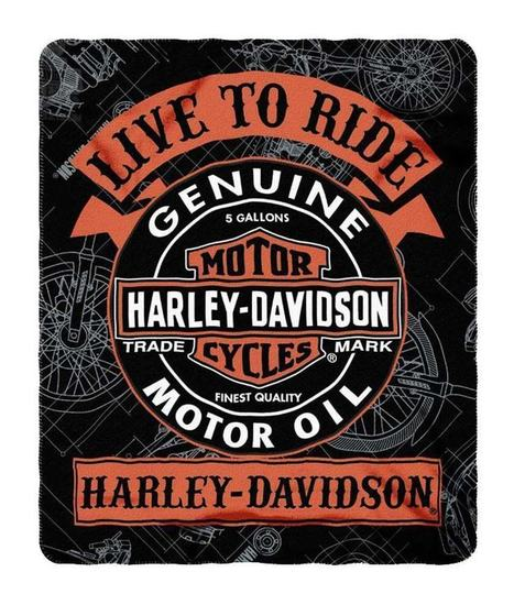 Coolest Harley Davidson Throw Blankets For 2016 | Boutique Shops News! | Scoop.it