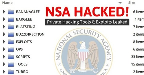 NSA's Hacking Group Hacked! Bunch of Private Hacking Tools Leaked Online - TheHackerNews.com | The Pointman | Scoop.it