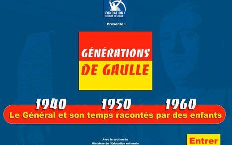 Génération de Gaulle: le Général et son temps racontés par des enfants | Remue-méninges FLE | Scoop.it