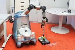 Robot cleaner can empty bins and sweep floors | leapmind | Scoop.it