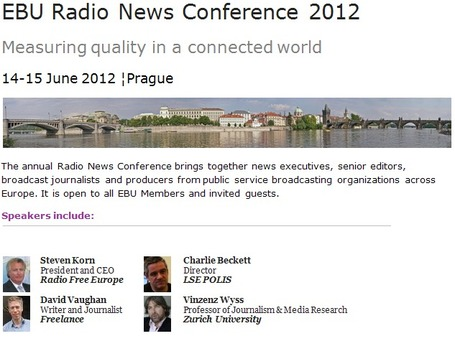 Radio News Conference 2012 : democracy, quality and depth of reporting | Radio 2.0 (Fr & En) | Scoop.it