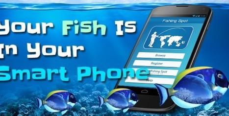 Make your smart phone your best bait | Fishing Spot App | Scoop.it