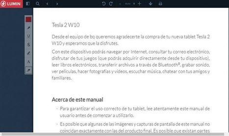 Lumin PDF: web para leer, editar y compartir documentos PDF | Educacion, ecologia y TIC | Scoop.it